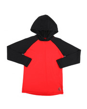Tops - No Limits Long Sleeve Hooded Tee (8-20)-2250124