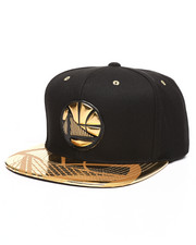 Mitchell & Ness - Golden State Warriors Gold Standard Snapback Hat-2250914