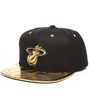 Mitchell & Ness - Miami Heat Gold Standard Snapback Hat-2250912