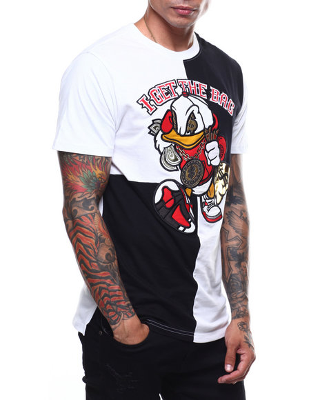 019c5ce22ae6 Buy COLOBLOCK GET THE BAG TEE Men s Shirts from Buyers Picks. Find ...