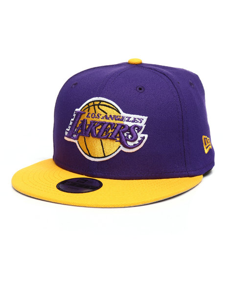 fbb8abe49bd Buy 9Fifty Los Angeles Lakers NBA Snapback Hat Boys Accessories from ...