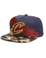 Mitchell & Ness - Cleveland Cavaliers Camo Paintbrush Snapback Hat-2250937