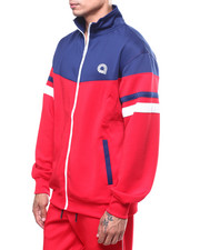 Track Jackets - BROADWAY MOCK NECK TRACKJACKET-2252478