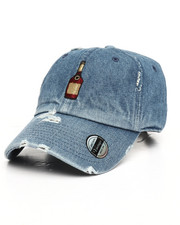 Dad Hats - Vintage Distressed Bottle Dad Hat-2249782