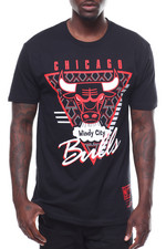 Mitchell & Ness - CHICAGO BULLS Final Seconds SS Tee-2251498