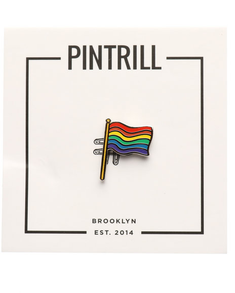 PINTRILL - Levis - Pride Flag Pin