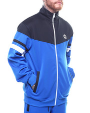 Track Jackets - BROADWAY MOCK NECK TRACKJACKET-2252472