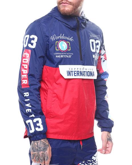 Buy WORLD MAP WINDBREAKER Men's Outerwear from Buyers Picks. Find