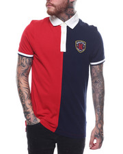 Short-Sleeve - COLOR BLOCK POLO W CREST-2253090