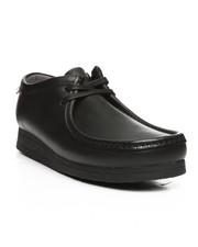 Clarks - Stinson Lo Black Leather Shoes-2252858