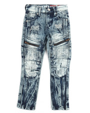 Boys - Motto Zippers Jeans (4-7)-2251144