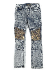 Boys - Moto Distressed Jeans (8-20)  -2251225