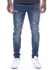 Jordan Craig - Sean Distressed Stretch Jean w Zip Ankle detail-2251872