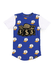 Boys - All Over Printed Tee w/Patch (8-20)-2249352