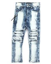 Jeans - Stretch Moto Jeans (4-7)-2251703