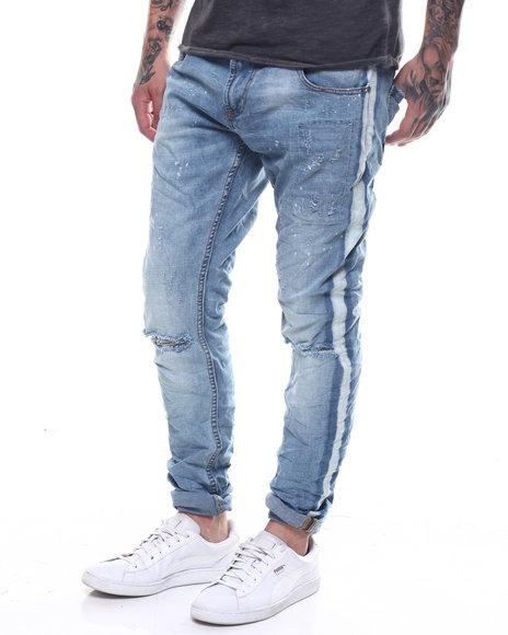 Buyers Picks - Light Rinse Stripe Jean