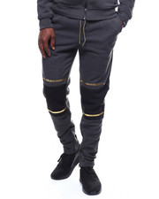 SWITCH - colorblock jogger w gold trim-2253503