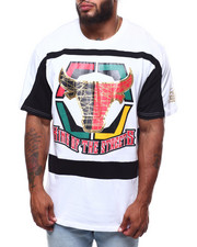 Men - Bulls Graphic Cut Block Tee/HD Foil Print (B&T)-2254147