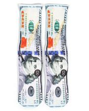 Accessories - 100 Dollar Bill Socks-2251935
