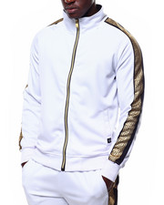 Track Jackets - Greek Key Track Jacket-2253540