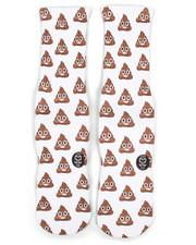 DRJ SOCK SHOP - Emoji Poop Socks-2251933