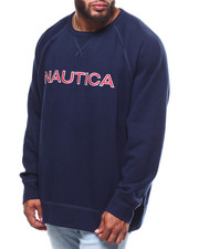Nautica - Chest Logo Crew (B&T)-2253836