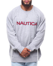 Nautica - Chest Logo Crew (B&T)-2253861