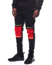 SWITCH - colorblock jogger w gold trim-2253546