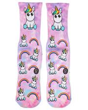 DRJ SOCK SHOP - Cute Unicorn Socks-2251943