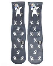 DRJ SOCK SHOP - Unicorn Dab Socks-2251937
