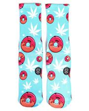 DRJ SOCK SHOP - Donut And Cannabis Socks-2251942