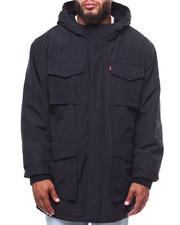 Heavy Coats - 4 Pocket Arctic Cloth Hooded Parka Jacket (B&T)-2253568