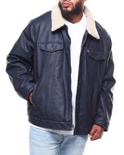Levi's - Leather Classic Trucker Jacket (B&T)-2253589