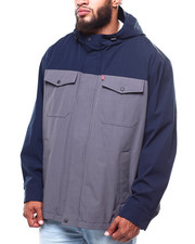 Heavy Coats - 2 Pocket Arctic Cloth Rain Jacket (B&T)-2253572