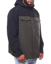 Heavy Coats - 2 Pocket Arctic Cloth Rain Jacket (B&T)-2253583