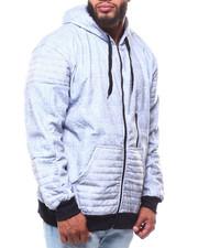Light Jackets - Fleece MT Zip Hoodie (B&T)-2253607
