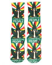 DRJ SOCK SHOP - Flower To The People Socks-2251939