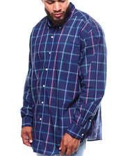 Button-downs - L/S Stretch Easy Care N-Ec Stretch Sport Sleeve (B&T)-2253593