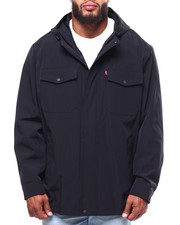 Heavy Coats - 2 Pocket Arctic Cloth Rain Jacket (B&T)-2253586