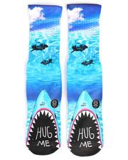 DRJ SOCK SHOP - Hug Me Shark Socks-2251945