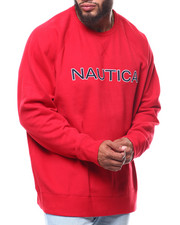 Nautica - Chest Logo Crew (B&T)-2253831