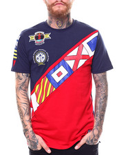 Men - Nautical Flag Chest Banner Tee-2254723