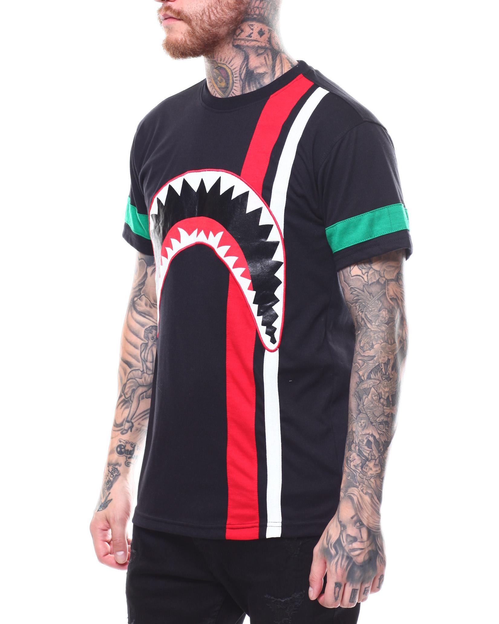 b56cc9dc0362 Buy COLORBLOCK SHARK TEE Men's Shirts from Buyers Picks. Find Buyers ...