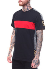 Men - V-COLORBLOCK TEE-2255209