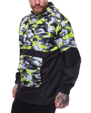 Men - Printed Camo Anorak-2255323