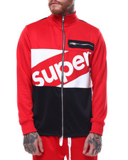 Track Jackets - Super Color Block Track Jacket-2255121