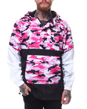 Men - Printed Camo Anorak-2255317