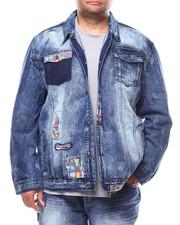 Big & Tall Faves - Hokies Denim Jacket (B&T)-2255707