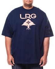 LRG - S/S Classic Stack Tee (B&T)-2255398