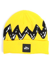 HUF - HUF x Peanuts Charlie Brown Good Grief Beanie-2255546